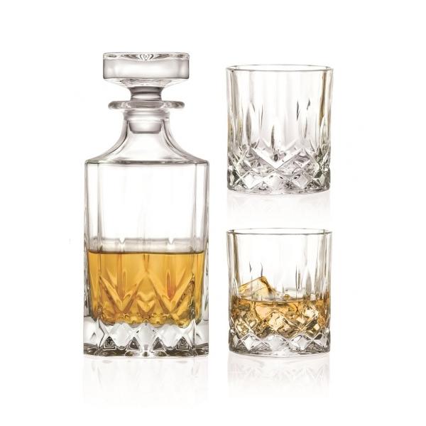 Kristallen Whiskey Glazen.Opera Whisky Set